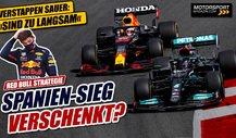 Formel 1, Spanien 2021: Hat Red Bull den Sieg weggeworfen?