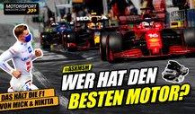 Welcher Hersteller hat den besten Formel 1 Motor 2021?