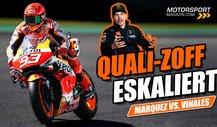Marquez und Vinales bekriegen sich im MotoGP-Q2 von Mugello