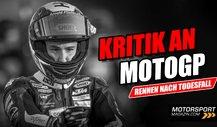 MotoGP-Rennen nach Tod von Jason Dupasquier: Fahrer verärgert