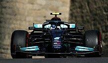 Formel 1, Mercedes erklärt: Darum hatte Bottas in Baku Probleme