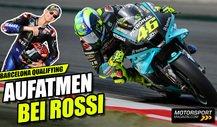 Valentino Rossi: Positive Signale in Barcelona