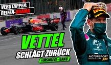 Formel 1: Vettel schlägt zurück: Wie gelang die Baku-Sensation?