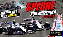 Formel 1: Sollte Mazepin für sein Manöver bestraft werden?