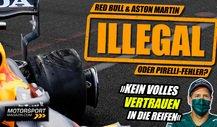 Formel 1 Reifenschäden: Waren Red Bull & Aston Martin illegal?