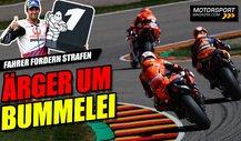 Dicke Luft am Sachsenring: MotoGP-Fahrer bummeln im Qualifying