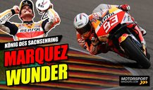 Marc Marquez triumphiert am Sachsenring: Glück des Tüchtigen