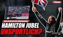 Formel 1: Hamilton-Jubel nach Verstappen-Crash unsportlich?