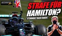 Härtere Strafe für Hamilton? Stewards sichten neue Beweise!