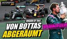 Formel 1 Chaos in Ungarn: Disqualifiziert: Vettel verliert P2!