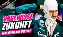 Ungewisse Formel 1-Zukunft! Was wird aus Sebastian Vettel?