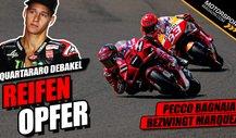 MotoGP: Deshalb ging Fabio Quartararo in Aragon unter