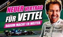 Fix: Vettel bleibt in der Formel 1! Steigt Volkswagen ein?