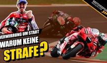MotoGP - Verwirrung um Bagnaia-Start: Warum keine Strafe?