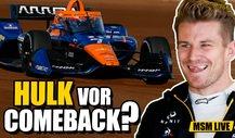 Hülkenberg testet für McLaren: Indycar statt Formel 1!