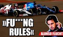 Alonso schimpft über Überholregeln in der Formel 1!