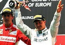 Formel 1: Formel 1, Massa warnt Alonso: Comeback-Flop wie bei Schumacher?