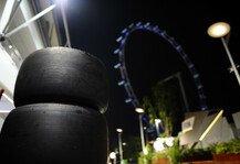 Formel 1: Hohe Belastung f�r die Reifen in Singapur - Hohe Temperaturen, viele Kurven