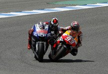 MotoGP: Magic Moments 2013: Marquez checkt Lorenzo - Die Emotionen kochen hoch