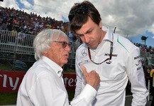 Formel 1: Wolff: Ecclestone-Prozessende gut - Ecclestone ist stark zur�ckgekommen