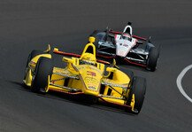 IndyCar: Titel-Showdown in Fontana - Vorteil Will Power