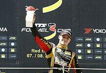 Formel 3 Cup: Pommer holt sich n�chsten Sieg - Abwarten und nach Hause fahren