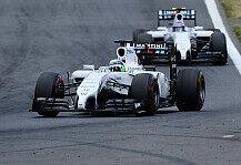 Formel 1: Smedley will Bottas und Massa bei Williams halten - Sie treiben sich und das Team an