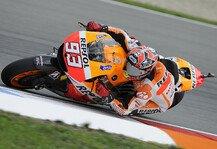 MotoGP: Marquez �berlegen Schnellster im zweiten Training - Debakel f�r Rossi und Lorenzo