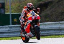 MotoGP: Marquez gibt die Pace am Freitagmorgen vor - Iannone und Dovizioso in den Top-3