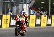 MotoGP: Wie geht es nach dem Ende der Siegesserie weiter? - Pedrosa, Rossi, Lorenzo und Marquez �ber Silverstone