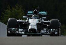 Formel 1: 1. Training: Mercedes gibt in Spa den Ton an - Rosberg vor Hamilton