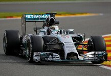 Formel 1: 2. Training: Hamilton-Bestzeit in Belgien - Red Bull k�mpft