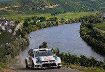 WRC: Latvala f�hrt, Ogier verabschiedet sich - Rutschpartie in den Weinbergen