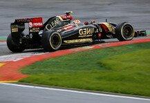 Formel 1: Lotus Vorschau: Italien GP - Ein bisschen Angst vor Monza