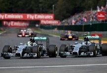 Formel 1: Belgien-Steward: Rosberg-Attacke harmlos - Zehn Sekunden diskutiert