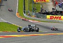 Formel 1: Neue Formel 1 ist nicht nur langsamer - Rosberg unterbietet erstmals Vorjahresbestzeit