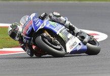 MotoGP: Lorenzo trotz Reihe eins mit Bedenken - Weicher Vorderreifen keine Option f�rs Rennen