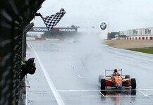 ADAC Formel Masters: Marvin Dienst siegt im Eifel-Regen - Spannendes Duell mit dem Teamkollegen