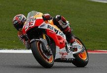 MotoGP: Marquez: 6. Bestzeit in 6. Session - Drei Zehntel voran im Warm-Up