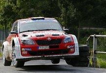 Mehr Rallyes: Herzschlagfinale: Wiegand erobert Platz 2 - 0,2 Sekunden Vorsprung nach letzter Pr�fung
