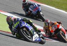 MotoGP: Rennanalyse: Rossis Siegfaktoren - Yamaha schl�gt Honda, Lorenzo mit Fehlentscheidung
