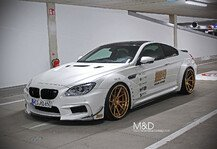 Auto: Goldzilla � BMW 650i wird zum M6-Breitbau-Monster - M&D exclusive cardesign veredelt M6