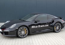 Auto: Porsche 911 Turbo: Maxi-Tuner findet 60 Extra-PS - Neues MaxPower-Upgrade