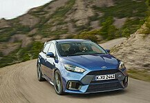 Auto: Serienm��ig 350 PS: Ford Focus RS in Goodwood - Ken Block entfesselt den RS