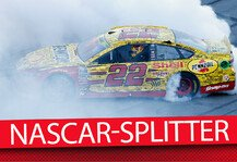 NASCAR: News-Splitter: NASCAR West Coast Swing - NASCAR Donuts: Larson holt Pole Award in Fontana