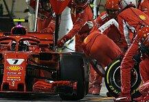 Formel 1: Formel 1 heute vor 2 Jahren: Beinbruch-Boxendrama bei Ferrari