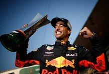 Formel 1: Formel 1 heute vor 3 Jahren: Ricciardo siegt aus dem Hinterhalt