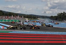 Formel 1: Formel 1 - Für mehr Action: Frankreich GP will Strecke ändern