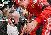 Formel 1: Formel 1, Sohn weist Räikkönen zurecht: Guck nach vorne!