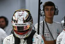 Formel 1: Streit mit Lewis Hamilton? Russell dementiert Formel-1-Gerücht